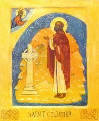 St Columba Patron Saint of Poets