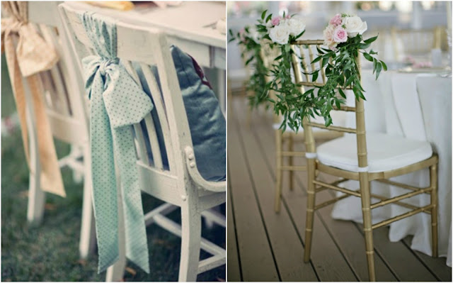 boda decoración sillas wedding chairs decoration ideas
