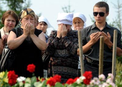 Похороны родных с Булгарии