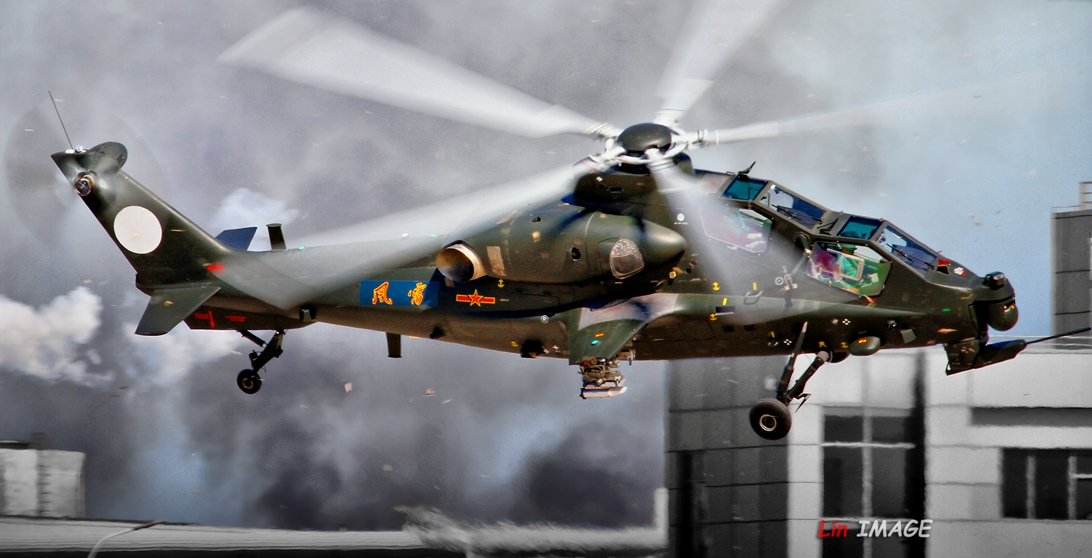 ... WZ-10 Attack Helicopter Team in Action | Chinese Military Review Army Helicopters In Action
