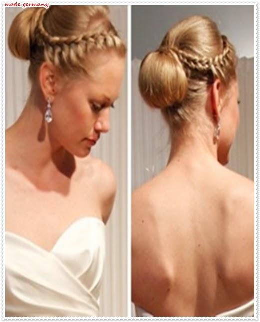Hochsteckfrisuren 2014 für die Hochzeit