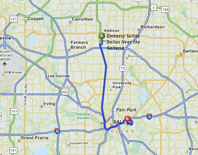 Fair Park is 25 minutes / 17 miles from Embassy Suites Dallas Near the Galleria