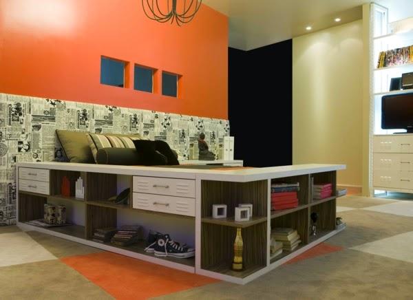 Conseils d co et relooking petites chambre coucher des for Idee amenagement petite chambre