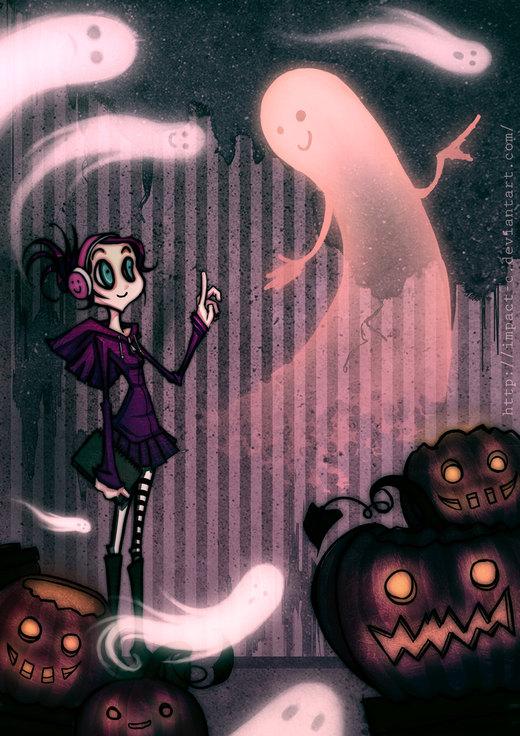 Excuse me, Mister Ghost... por VictoriaViolet