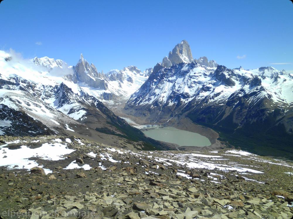 Cerro Torre, Laguna Torre,