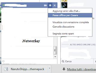 chat facebook offline