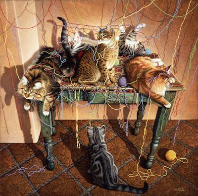 А это наши котята уже