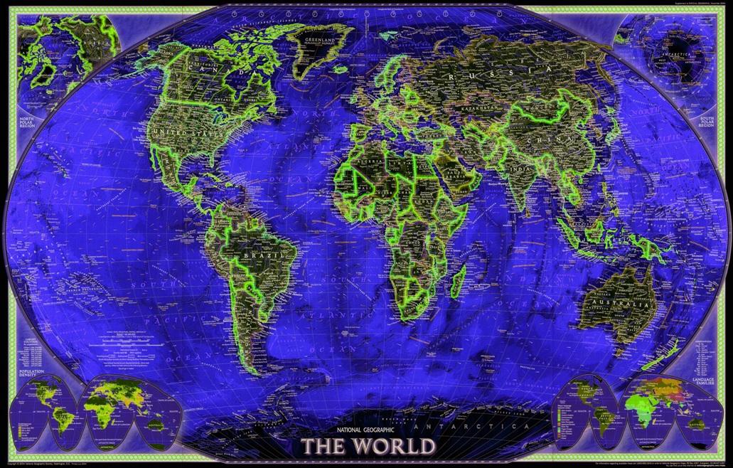 Mapa Mundi Grande Foto Hd Decorativo Em Papel Fotogrfico  R 130