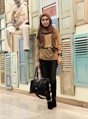 Heart Notes Rainbow Gaya Hijab Trendy Untuk Remaja