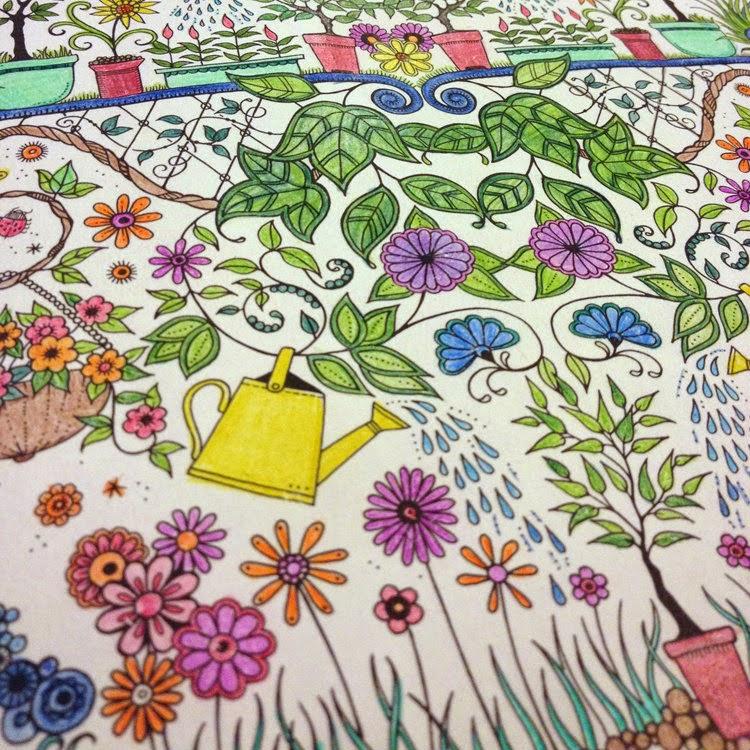 Livro Jardim Secreto Desenhos para colorir e imprimir do