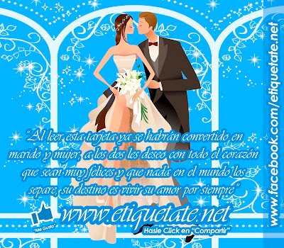 leer en las bodas: