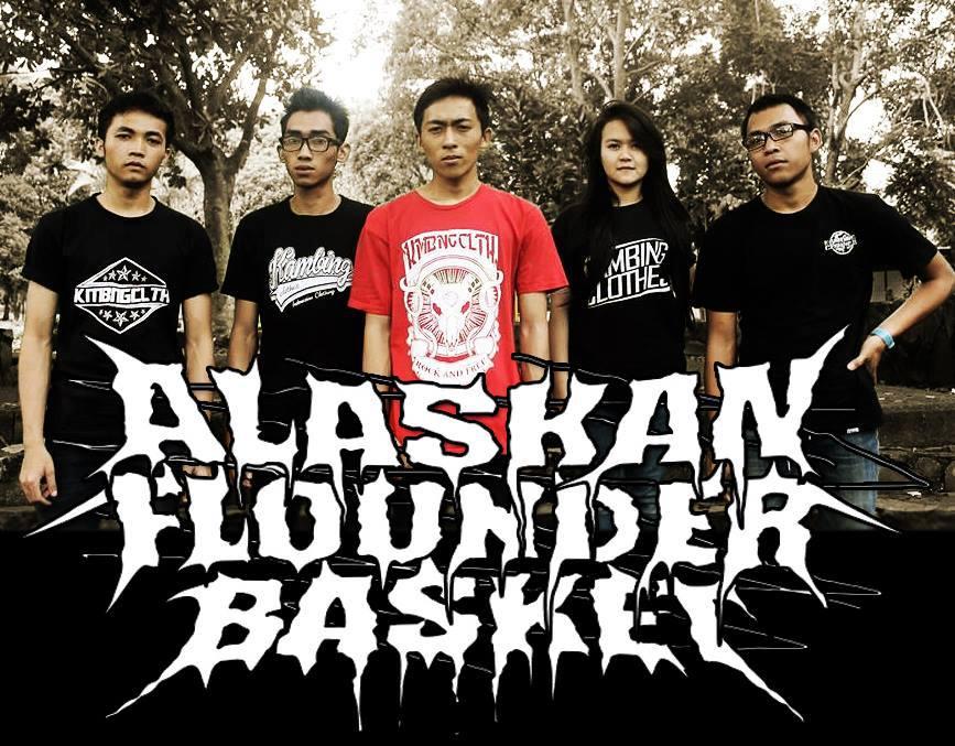 Alaskan Flounder Basket Band Deathcore Bandung Foto Personil Logo Waallpaper