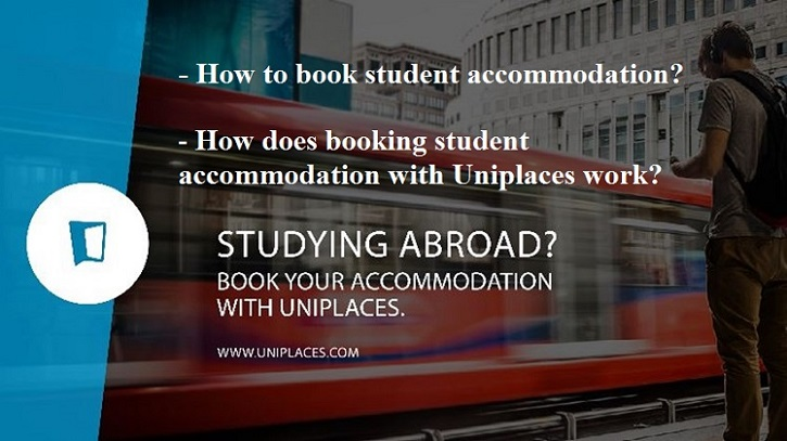 How to book student accommodation? How does booking student accommodation with Uniplaces work?