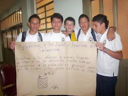 Participación estudiantes en socialización Plan de Desarrollo