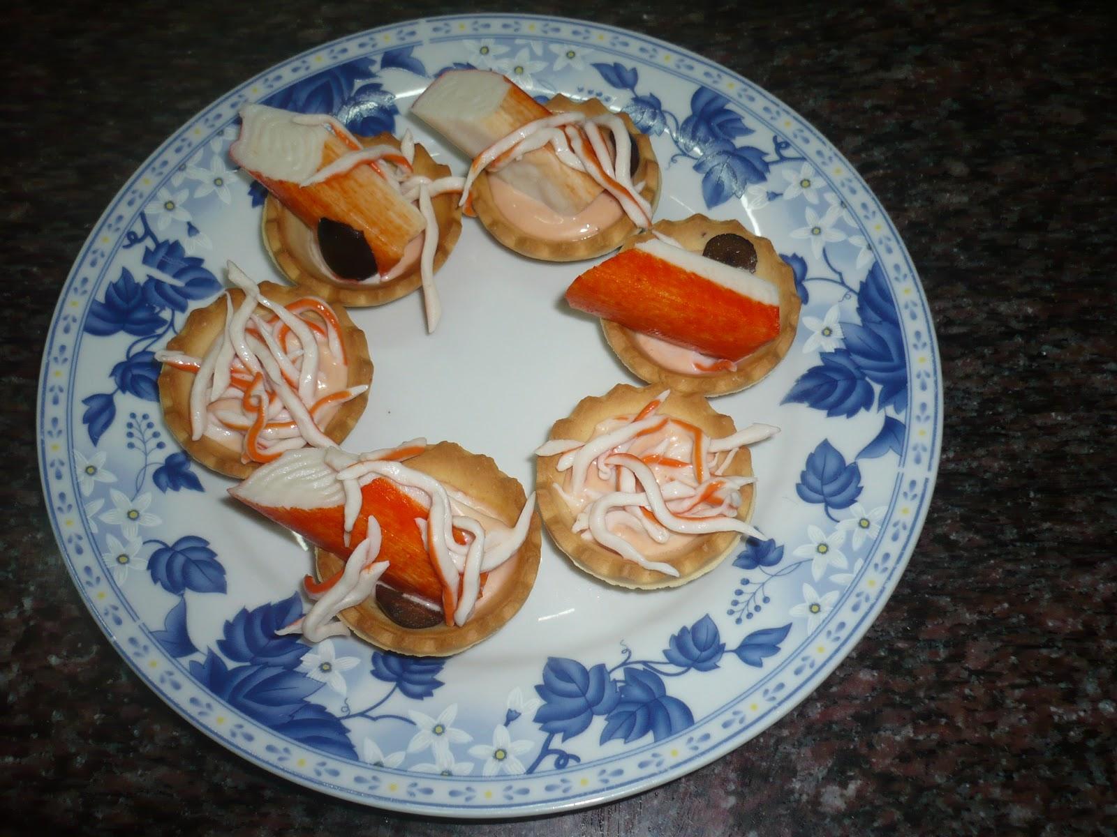 En la cocina con ana canap s marineros - Ana en la cocina ...