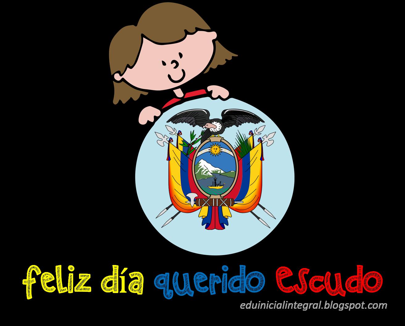 Educación Inicial para Todos: Escudo del Ecuador