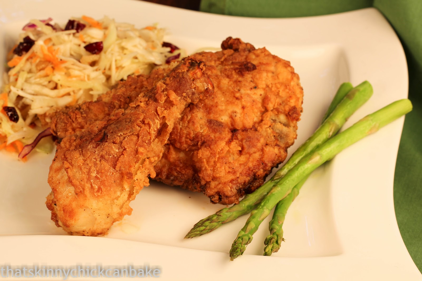 Southern Fried Chicken - That Skinny Chick Can Bake