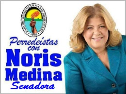 "Noris Medina""SENADORA"" 2020-2024"