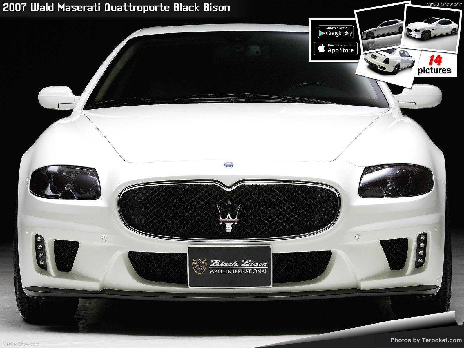 Hình ảnh xe độ Wald Maserati Quattroporte Black Bison 2007 & nội ngoại thất