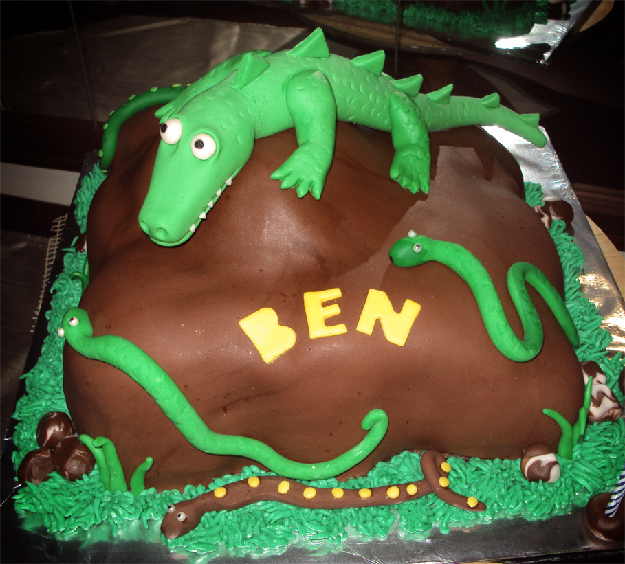 Delana S Cakes Reptiles Cake