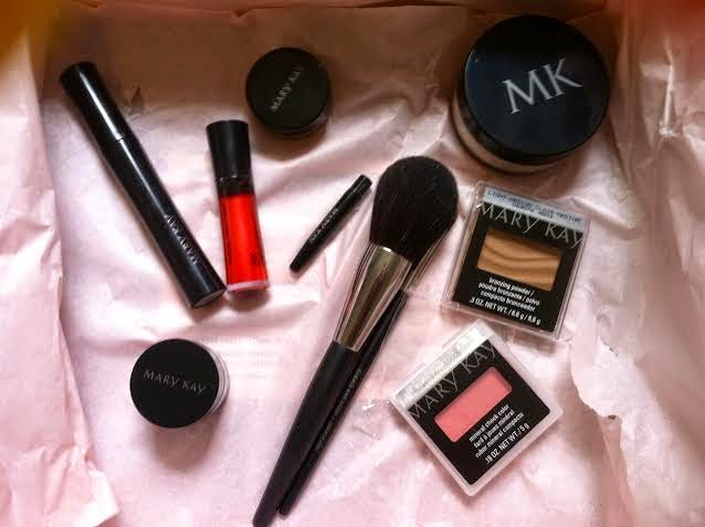 Mary Kay VoxBox Review Swatches Products Influenster Sun Kissed