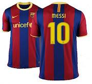 Camiseta de Messi-Barcelona