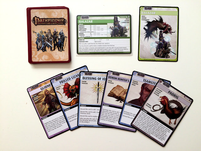 Pathfinder Wrath of the Righteous Balazar cards