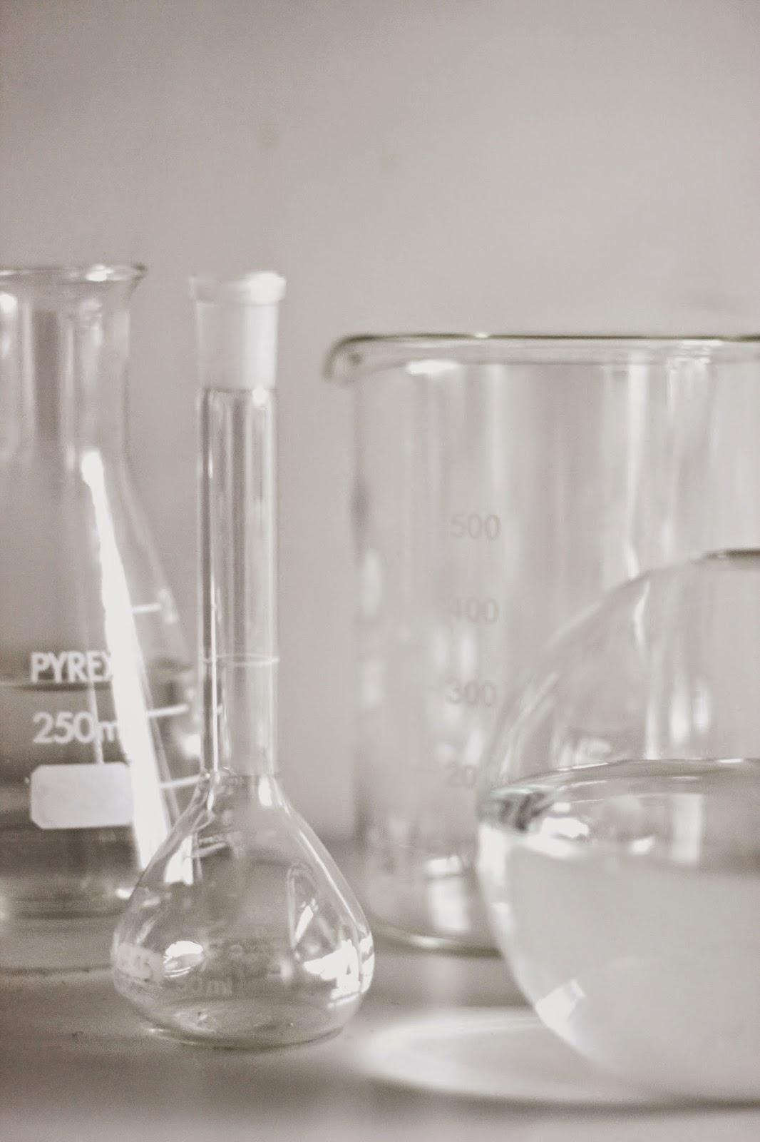 chemistry glasses, scandinavian interior via http://www.scandinavianlovesong.com/