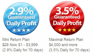 Earn up to 3.5% Per Day - For 70 Days | rProfits -Online investment opportunity