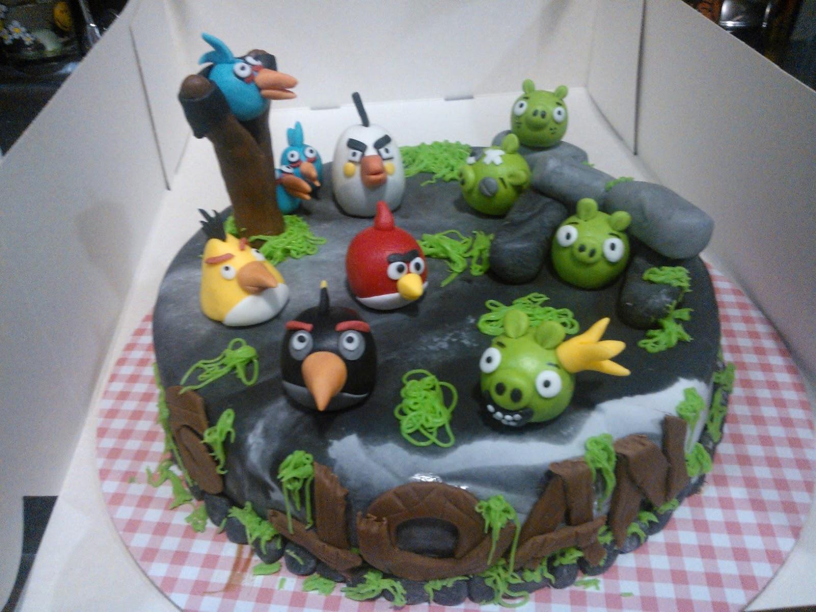 pastis fondant, Angry Birds