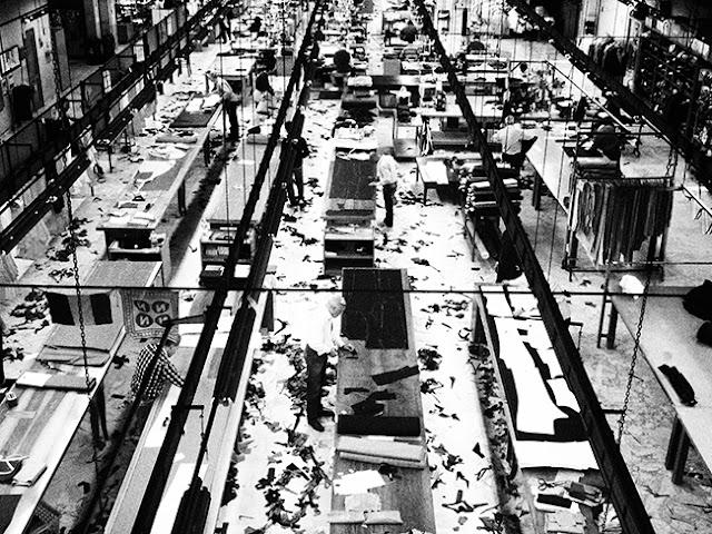 Kiton's factory