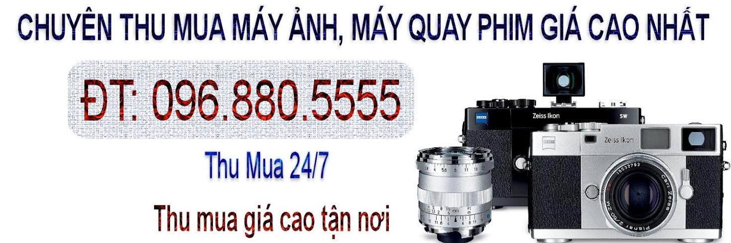 Chuyên thu mua máy ảnh, máy quay phim giá cao