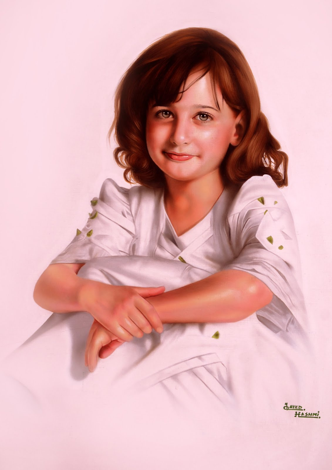 Beautiful Child Paintings