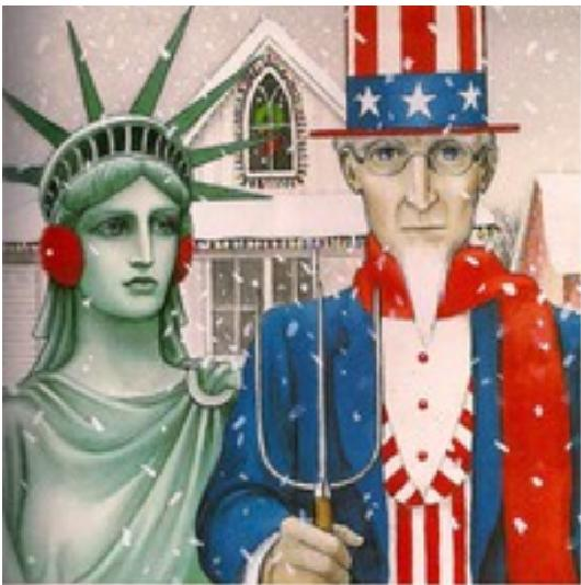 When We Take A Look At This Picture Of Course See Uncle Sam And The Statue Liberty Something Else May Familiar To You As Well