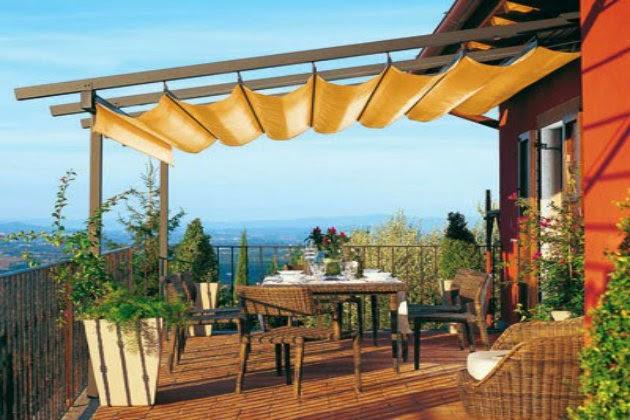elegant prgola innovadora para terraza with pergolas para terrazas de aticos - Pergolas Terraza
