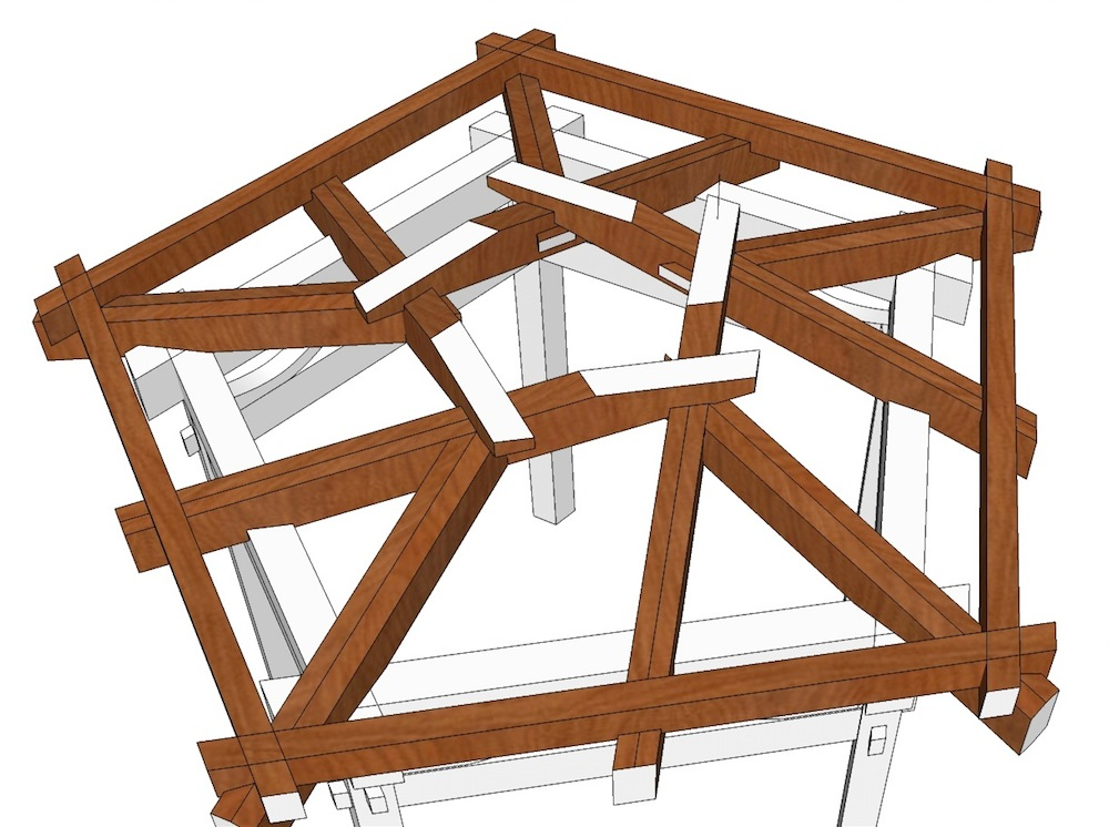 pavillon holz selber bauen pavillon selber bauen. Black Bedroom Furniture Sets. Home Design Ideas