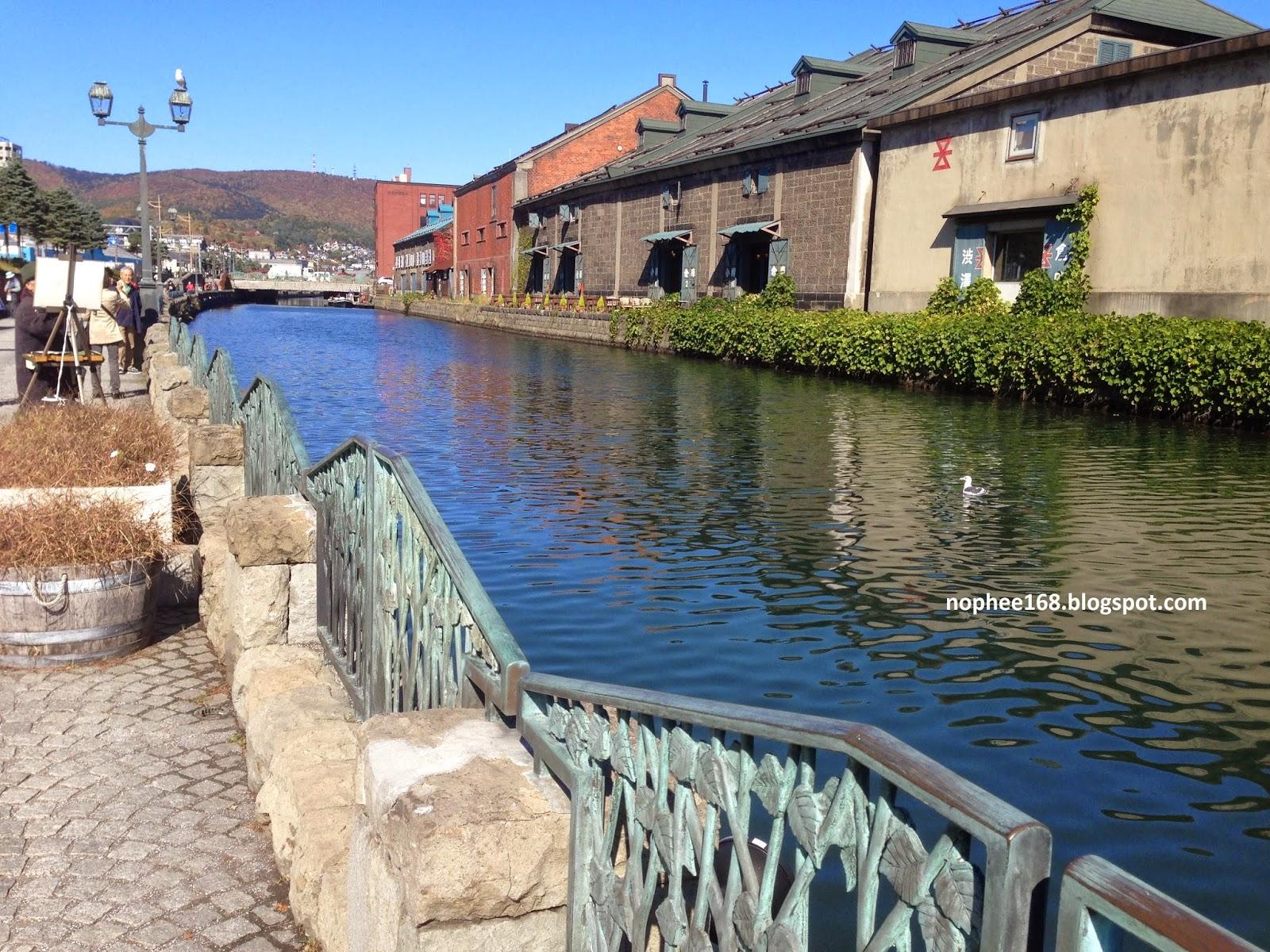 Otaru Bay Canal Hokkaido
