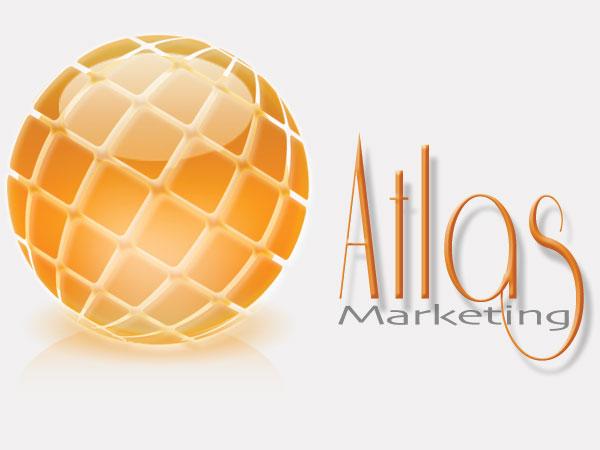 Atlas Marketing Branding Logo Design Alice Graphix AliceGraphix