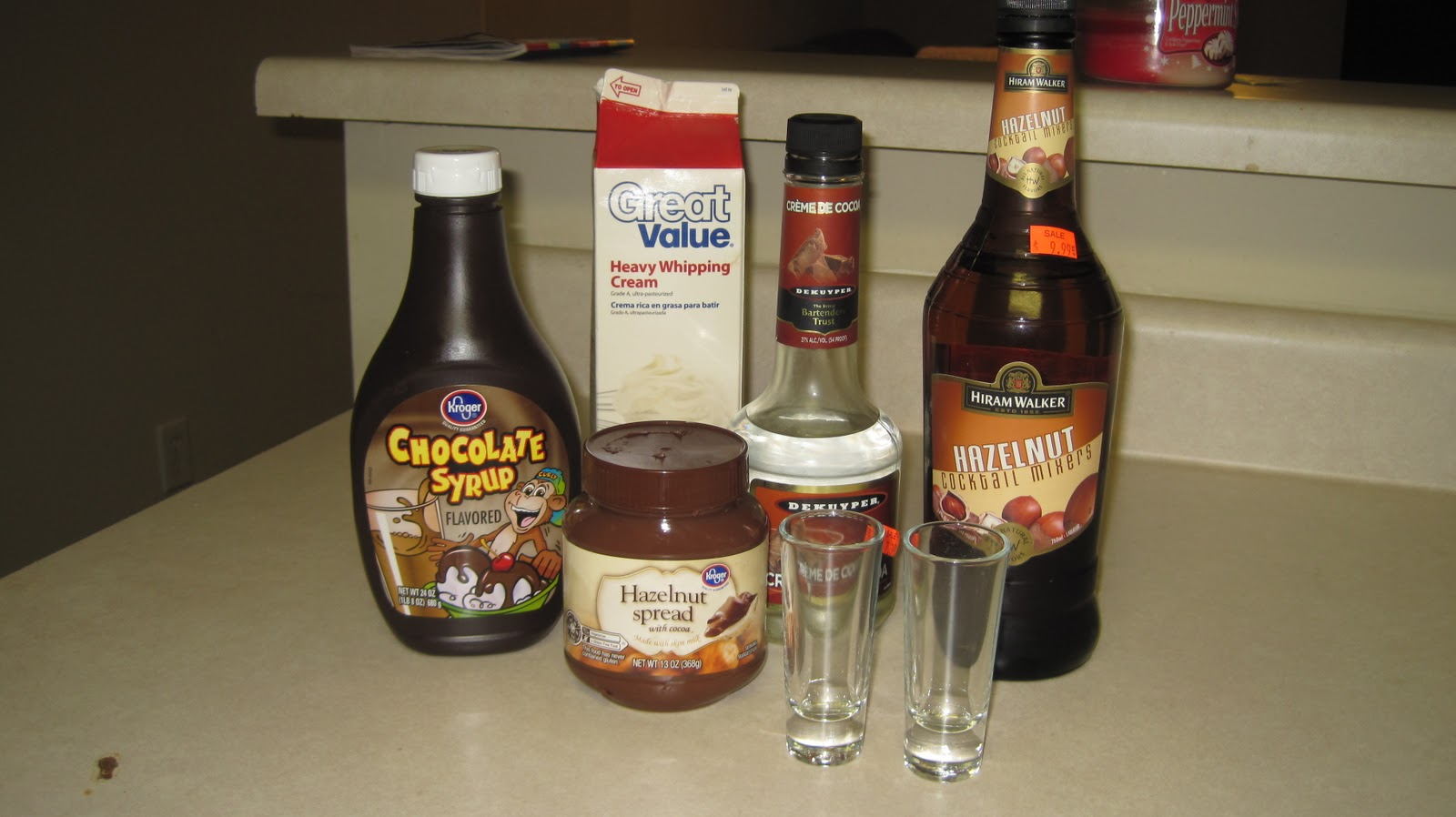 Nickles & Dimes: Nutella Shots