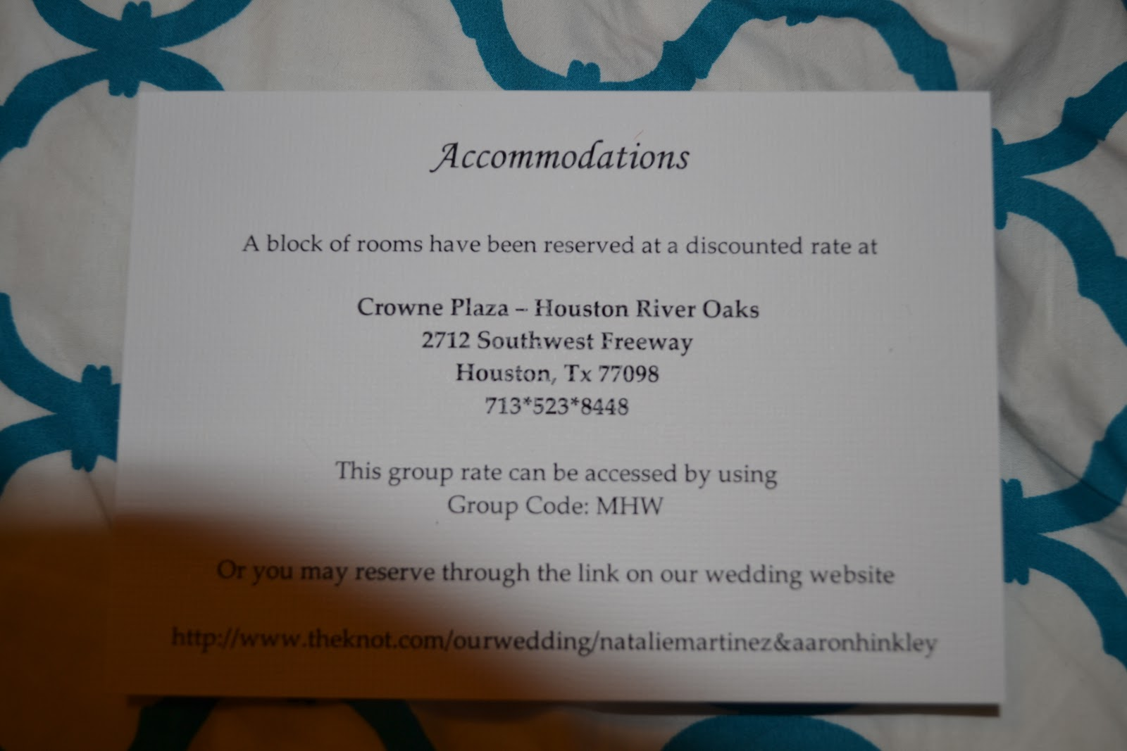 Bells and Bows: Our Winter Wonderland Wedding Invites - Part 2