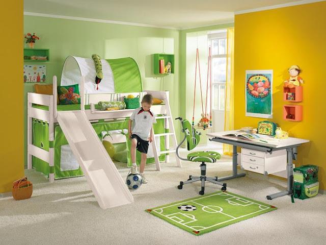 تصاميم وصور إبداعية لغرف الأطفال