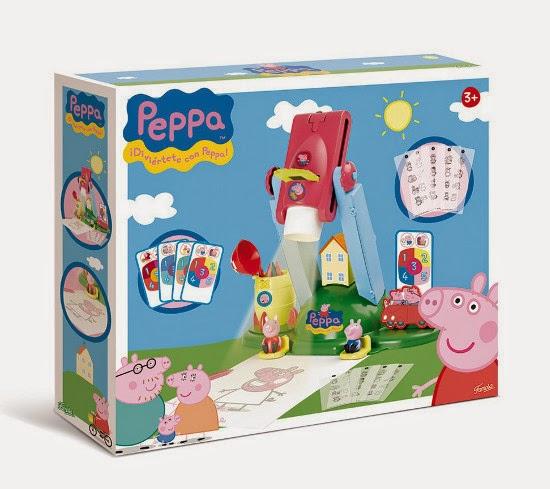 JUGUETES - PEPPA PIG - Proyector Producto Oficial | Famosa 700010567 | A partir de 3 años