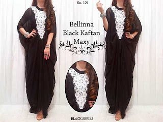 Bellina Black Kaftan