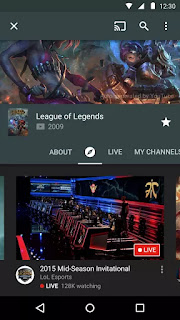 YouTube Gaming v1.2.25.5 Apk
