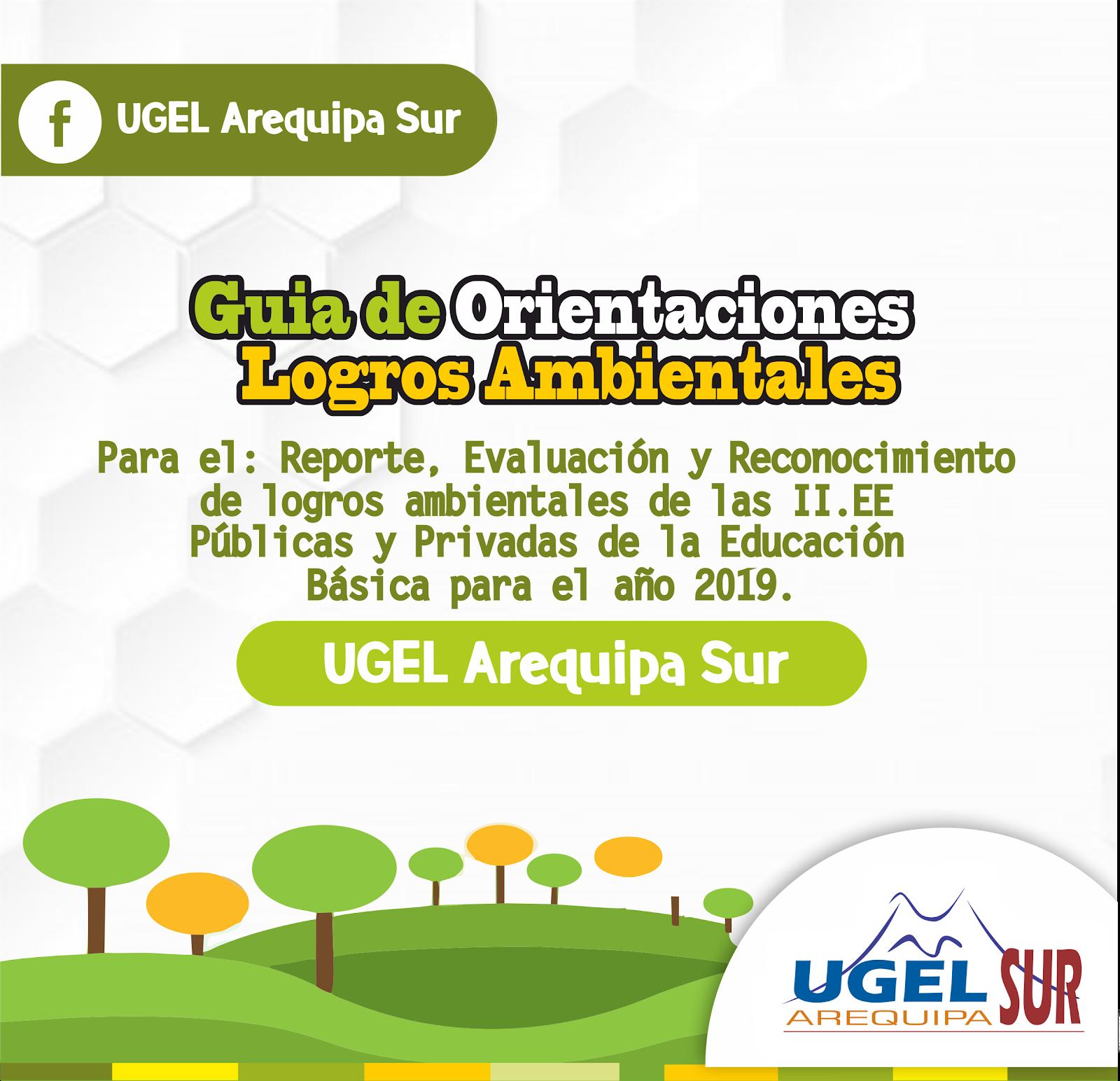 GUIA DE ORIENTACIONES LOGROS AMBIENTALES 2019