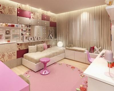 Tinejđerska soba za djevojke