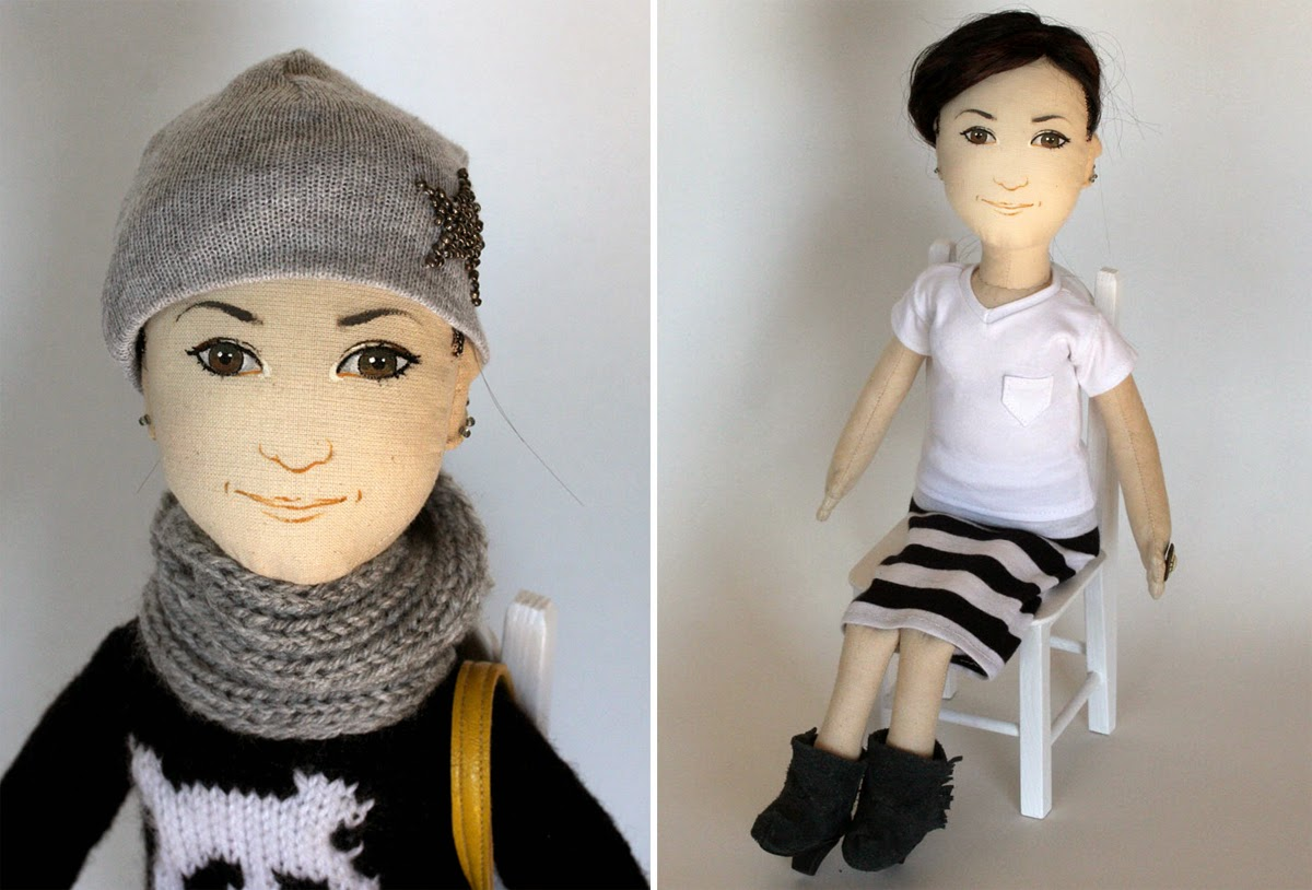 dolls, hand made dolls, leisure time, aga plieth, dolls that look cool