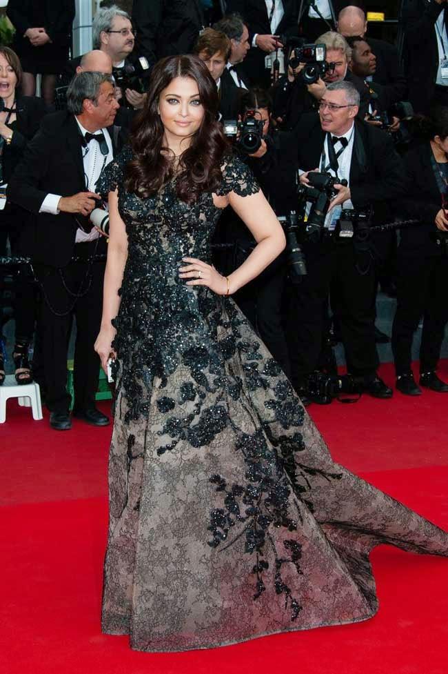 Aishwarya Rai at 66th edition of Cannes film festival in 2013