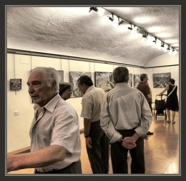 BEGUR-PINTURA-EXPOSICIO-PINTOR-ERNEST DESCALS-GIRONA-CENTRE CULTURAL-ESCOLES VELLES