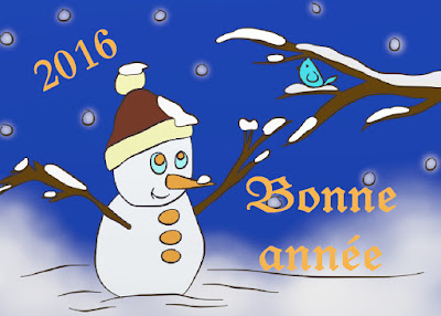 Une bonne et heureuse année 2016 pour tous !